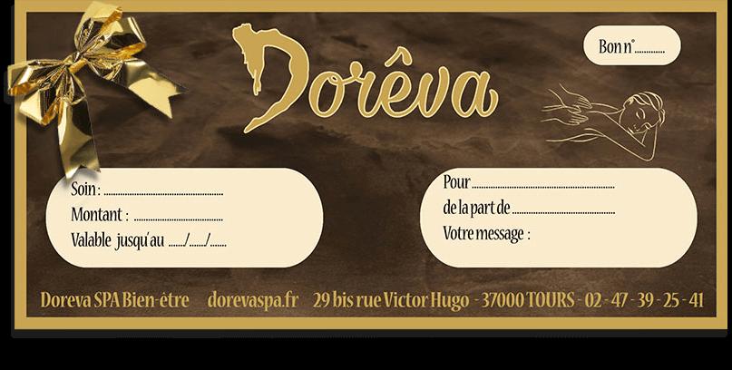 Chèque Cadeau Dorêva